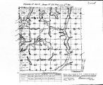 Iowa land survey map of t098n, r028w