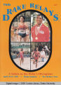 Drake Relays Program Cover, 1985