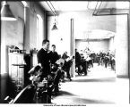 Clinic in Old Dental Building, The University of Iowa, 1904