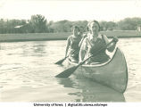 Canoeing, The University of Iowa, 1930s