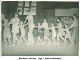 Conga line, The University of Iowa, 1938