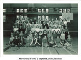Women's physical education students, The University of Iowa, 1950s