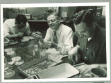 Working in the Zoology Building laboratory, the University of Iowa, 1950s