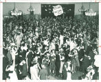Fall dance in the Iowa Memorial Union, the University of Iowa, circa 1956