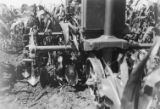 Tractor mounted cultivator, 1945