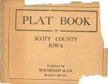 Plat book of Scott County, Iowa