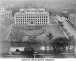 Induction ceremony, The University of Iowa, October 1, 1925