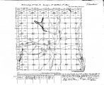 Iowa land survey map of t074n, r040w