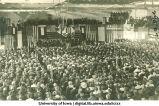 Speech as part of inauguration ceremonies for University President Eugene Gilmore, The University of Iowa, 1934