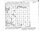 Iowa land survey map of t098n, r021w