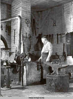 Blacksmith, Amana, Iowa, August 1937