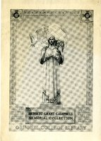 Herbert Grant Campbell Memorial Collection Bookplate