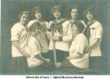 1916 softball team, The University of Iowa, 1916