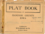 Plat book of Hancock County, Iowa