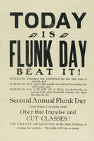 Today is Flunk Day: beat it!