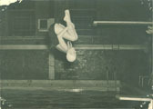 Diver, The University of Iowa, 1940s