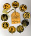 Homecoming badges, 1940s