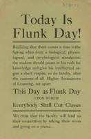 Today is Flunk Day!
