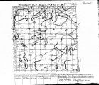 Iowa land survey map of t072n, r018w