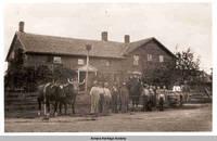 Communal residence, East Amana, Iowa, ca.1898