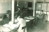 Daily Iowan newsroom in Close Hall, The University of Iowa, 1920s