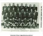 "Iowa's 1939 ""Iron Men"" of football, The University of Iowa, December 17, 1939"