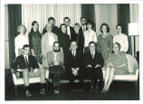 School of Library Science graduates and faculty, The University of Iowa, February 1969