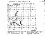 Iowa land survey map of t096n, r034w