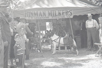 Hinman Milkers Display at the Whiteside County Fair 1942