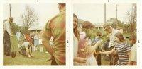 Sacred Heart grade school tree planting, 1971