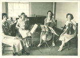 All-State string quartet, The University of Iowa, 1933