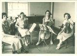 All-State string quartet, The University of Iowa, 1933
