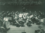 University band with director O. E. Van Doren, The University of Iowa, 1930