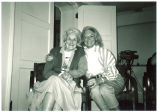 Mary Louise Smith with Libby Cater, early 1990s