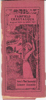 1911 Fairfield Chautauqua program