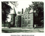 Close Hall on Iowa Avenue, The University of Iowa, 1920s