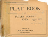 Plat book of Butler County, Iowa