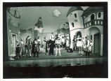 Street scene from The Bartered bride, The University of Iowa, July 1950
