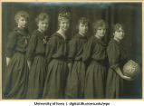 Women's basketball team, The University of Iowa, 1917