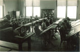 Students in a home economics class, The University of Iowa, 1920s