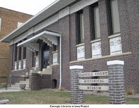 Carroll Public Library front, Carroll, Iowa