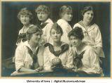 1918 softball team, The University of Iowa, 1918