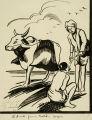 Goatskin carafe