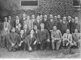 Geology Club composed of faculty and graduate students at Iowa University; The University of Iowa, 1924