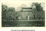 Iowa-Illinois football game, The University of Iowa, October 21, 1922
