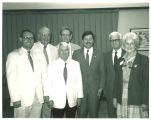 Mary Louise Smith with Iowa Centennial Memorial Foundation Board, Des Moines, Iowa, August 1988