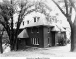 Sigma Chi Fraternity house, Iowa City, Iowa, 1938