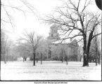 Old Capitol, The University of Iowa, February 1904