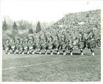 Scottish Highlanders at Rose Bowl, Pasadena, Calif., 1957