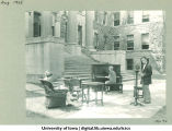 WSUI broadcast on Pentacrest, The University of Iowa, August 1925